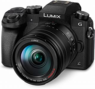 PANASONIC LUMIX G7 4K Mirrorless Camera, with 14-140mm Power O.I.S. Lens, 16 Megapixels, 3 Inch Touch LCD, DMC-G7HK (USA BLACK)