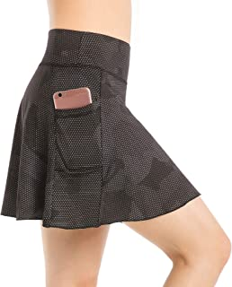 Nidalee Women Tennis Skirt Active Sports Running Golf Skort with Pocket