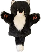 The Puppet Company CarPets Black & White Cat Hand Puppet