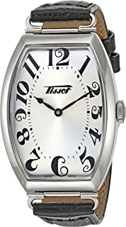 unisex-adult Porto Stainless Steel Dress Watch Silver T1285091603200