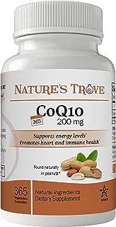 Nature's Trove CoQ10 200mg - 365 Vegetarian Capsules
