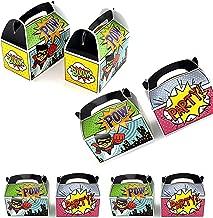 Tytroy 12 PC Superhero Foley Sound Goody Box Birthday Parties Party Favor Treat Boxes