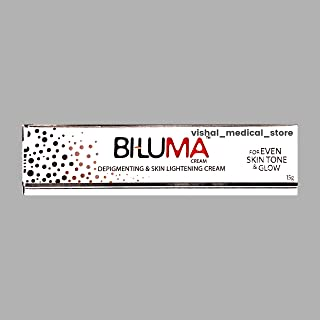 Biluma Depigmenting & Skin Lightning Cream - For Even Skin Tone & Glow