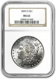 1899 O Morgan Dollar MS-63 NGC $1 MS-63 NGC