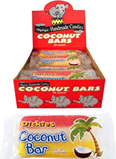 Dickies Coconut Slice Candy Bars (24 ct.)