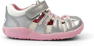 Bobux Step Up Summit Sandals – Premiers pas – Sandales pour bébé Bobux avec sangles attachées avec lacets croisés