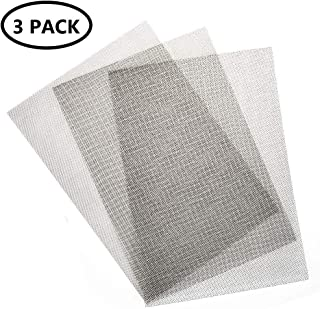 KONIBN 3pcs Stainless Steel Woven Wire 20 Mesh - A4 12