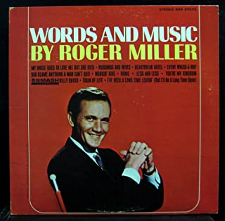 Words And Music By Roger Miller