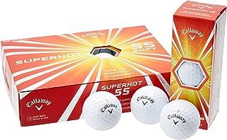 Callaway Superhot 55 Golf Balls, Prior Generation, (One Dozen)