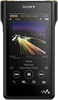 Sony NW-WM1A 128GB Premium Walkman - Digital Music Player with Hi-Res Audio, Black (2017 Model)