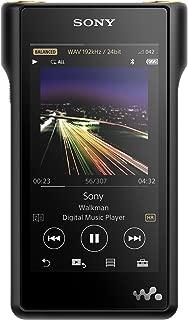 Sony NW-WM1A 128GB Premium Walkman - Digital Music Player with Hi-Res Audio, Black