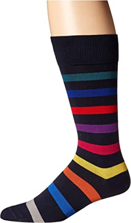 Lock Stripe Sock