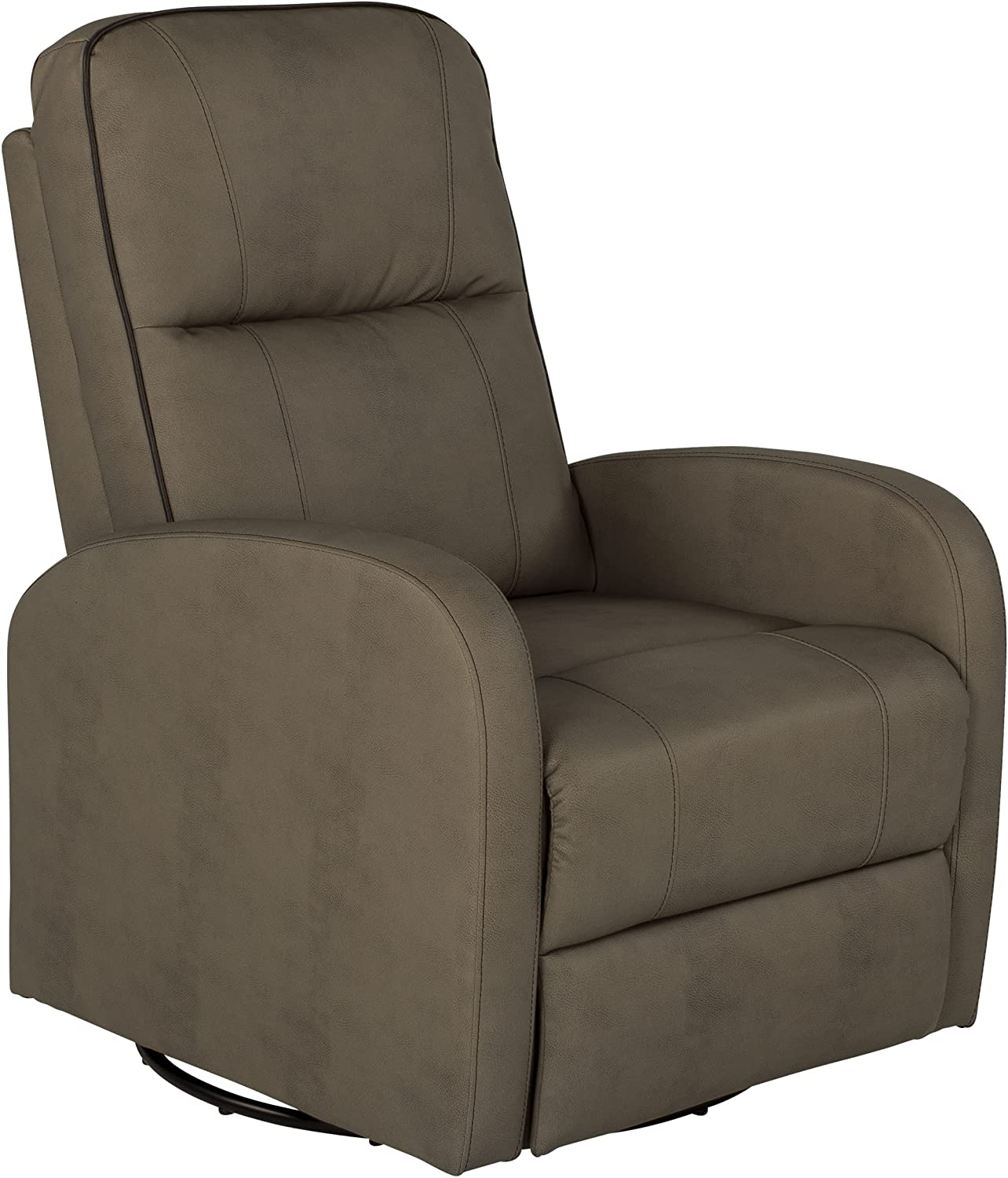 THOMAS PAYNE Swivel Pushback Recliner for 5th Wheel RVs, Travel Trailers and Motorhomes, Grummond