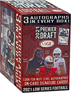 2021 Sage Premier Draft Football Blaster Box
