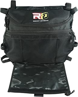 Rocket Offroad RO-UTV-RB Black Overhead Storage & Map Bag for RZR