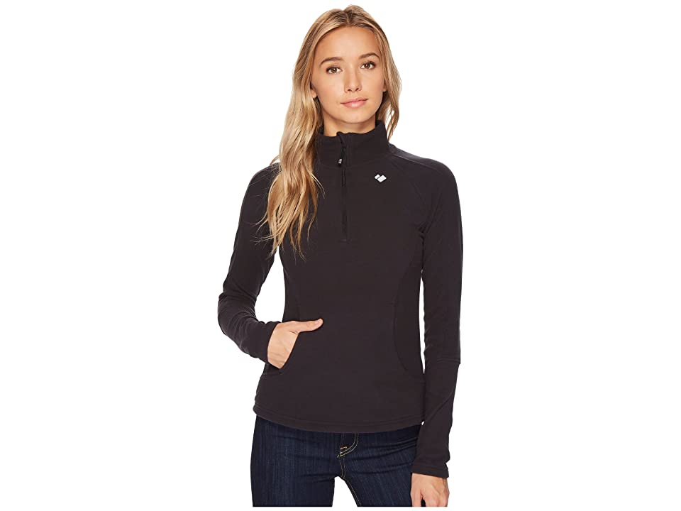 Obermeyer Siena Fleece Top (Black) Women