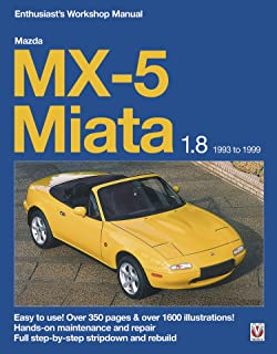Mazda MX-5 Miata 1.8 Enthusiast's Workshop Manual (Enthusiast's Workshop Manual series )