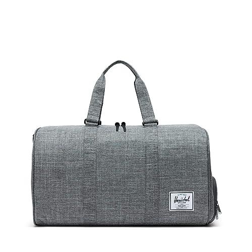 Herschel Novel Duffle Bag, Raven Crosshatch, One Size