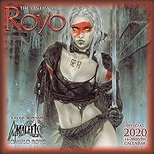 The Fantasy Art of Royo 2020 Calendar