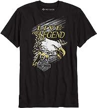 HARLEY-DAVIDSON Official Men's Live The Legend Slim Fit Tee, Black