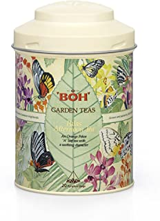 Sponsored Ad - BOH Palas Afternoon Garden Black Tea, 1 Canister, Caffeine Free Spa Herbal Infusion, Invigorating and Refre...