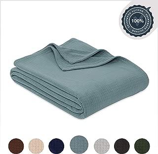 Berkshire Blanket Polartec Performance Fleece Bed Blanket, Full/Queen, Mineral