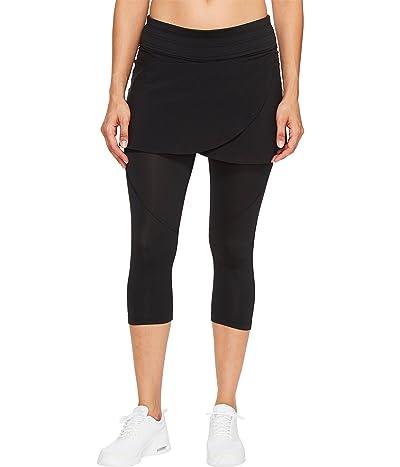 Skirt Sports Hover Capri Skirt (Black) Women