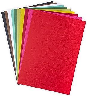 Sizzix Surfacez 663783, Cardstock, 60 Pack, Festive Colours, Multicolour, One Size
