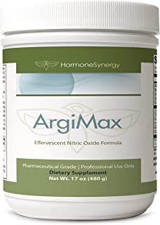 ArgiMax L-Arginine | 60 Servings 480 Grams (17 oz) | Effervescent Nitric Oxide Formula
