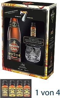 Rum Havana 7 Jahre 1 x 0,7L. 40% vol. GP inkl. Tumbler.