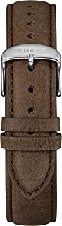 Timex TW7C08500 Two-Piece 20mm Brown Leather Quick-Release Strap