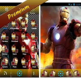 Iron Man Theme For Android