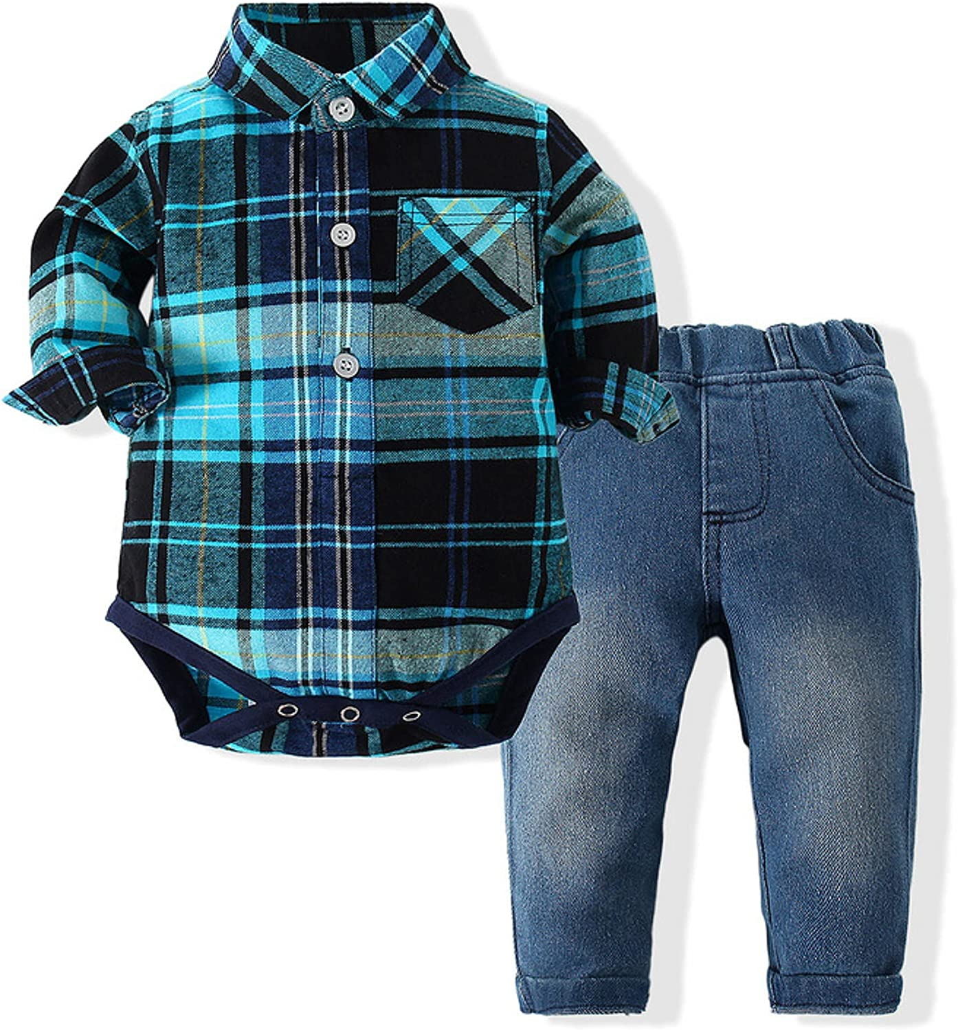 Toddler Boy Pants Outfits Shirt Jeans Outfit