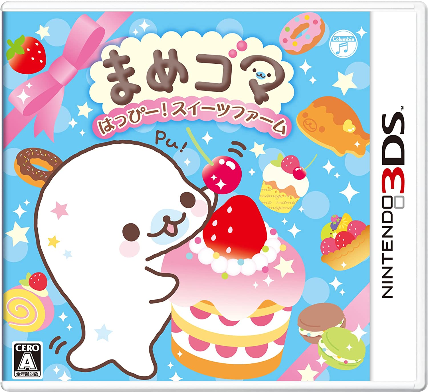 Credence Mamegoma Happy half Suites Farm - for 3DS Only Nintendo Japanese