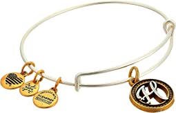 Alex and Ani Initial H Charm Bangle