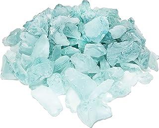 3Pk Darice 1140-64 Sea Glass Gems 1lb-Dark Blue