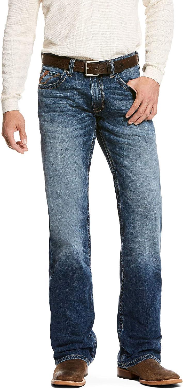 ARIAT Men's M5 Slim 送料無料(一部地域を除く) Stretch Cut Boot Aspen 手数料無料 Jett Jean