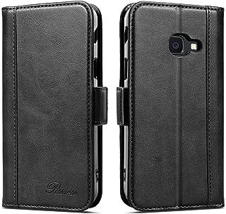 Rssviss Coque pour Samsung Galaxy Xcover 4s/Xcover 4, Etui Cuir PU de Samsung Xcover 4S avec Emplacements Cartes Housse Pr...