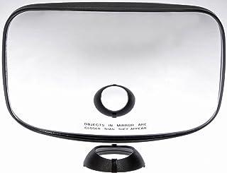 Dorman 955-5206 Driver Side Hood Mirror Glass for Select Freightliner Models