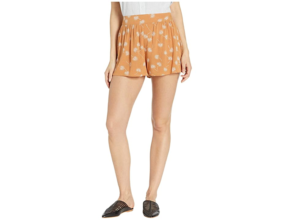 Amuse Society Mojito Short (Rum) Women's Shorts, Brown