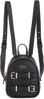 guess mini backpack black