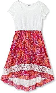 Speechless Girls' Lots of Love High-Low Dress