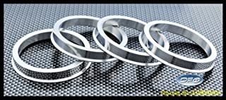 4 pieces Hubcentric Rings Hub Centric Rings 58.1x73mm