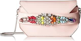 Pauline Patent Multi Colored Jewels and Rhinestones Clutch Crossbody