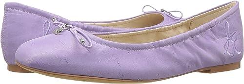 Sam Edelman Wohommes Felicia Lavender Silk Dupioni 6 6 W US W  grande remise