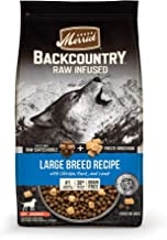 product image for Merrick Backcountry Raw Infused Grain Free Dry Dog Food Large Breed Recipe