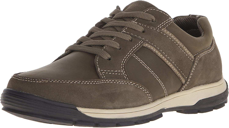 Nunn Bush Mens Layton Sport ox Leather Low Top Lace Up Fashion Sneakers
