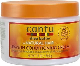 Cantu Natural Leave-in Cond 12oz