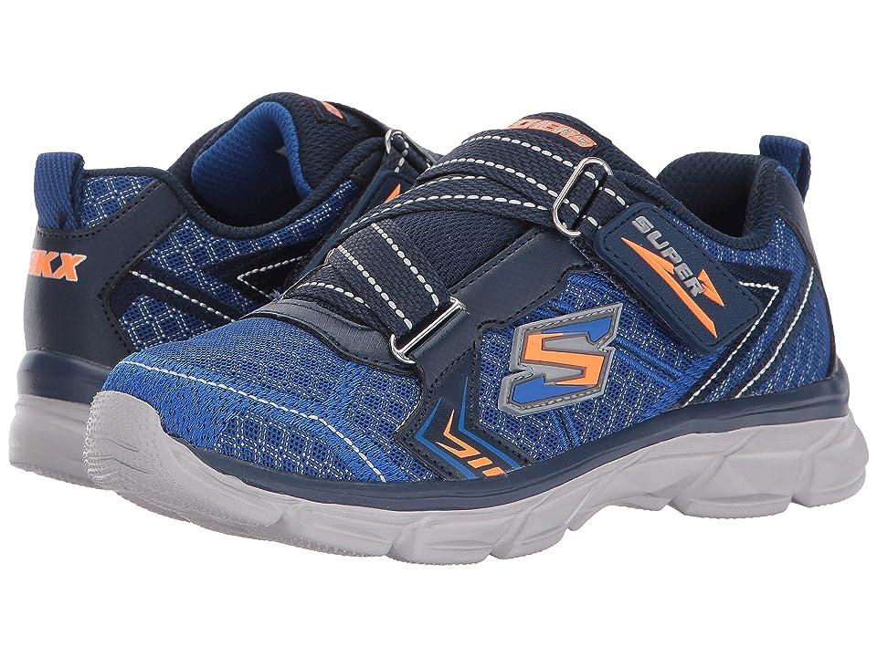 SKECHERS KIDS Advance Super Z Sneaker (Little Kid/Big Kid) (Blue/Navy) Boy
