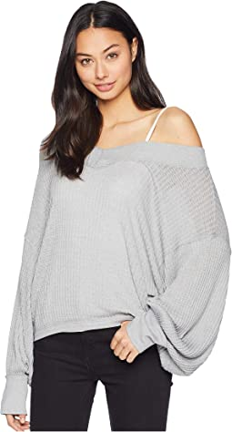 Womens Free People Gray Sweaters Free Shipping Clothing Zappos